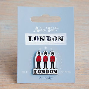 Alice Tait 'London Guards' Pin Badge - Alice Tait Shop