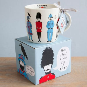 Alice Tait 'Guards of London' Mug - Alice Tait Shop