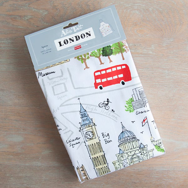 Alice Tait 'Map of London' Apron - Alice Tait Shop