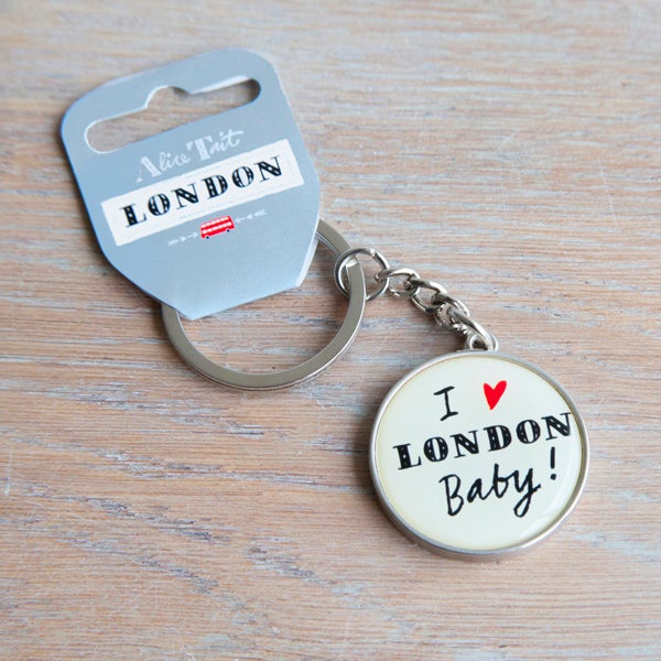 Alice Tait 'I Love London' Keyring - Alice Tait Shop