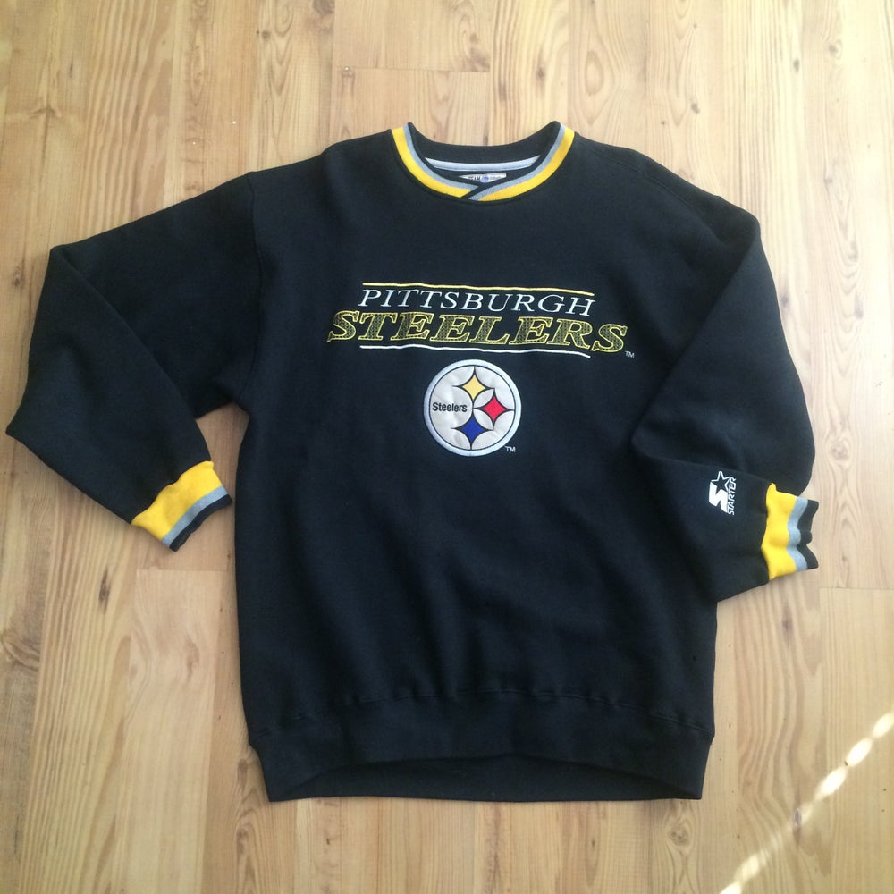 Image of Vintage Pittsburgh Steelers Starter Sweater
