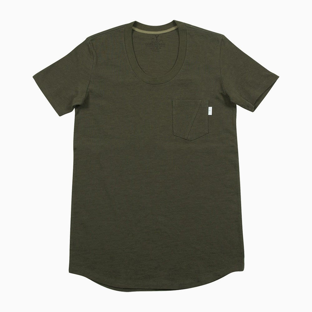 Image of bluey Droptail Tee - KHAKI