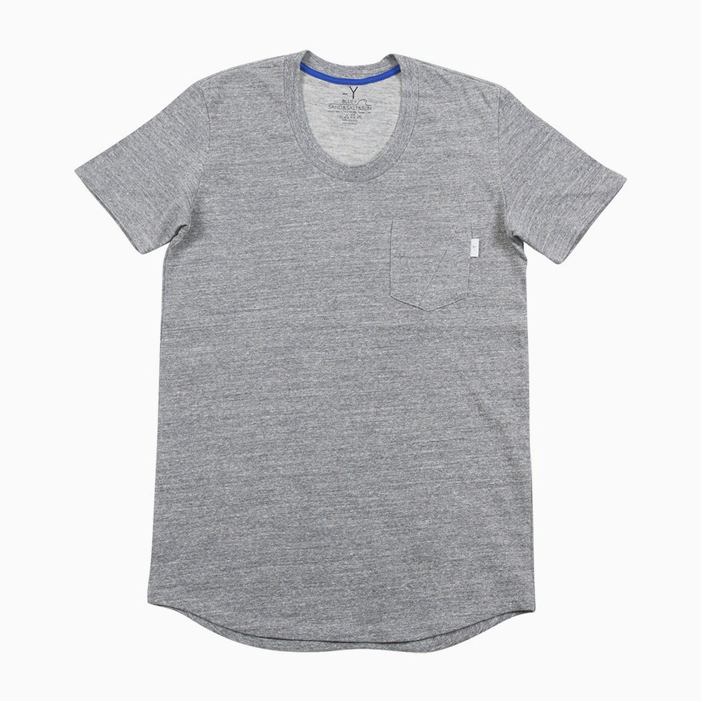 Image of bluey Droptail Tee - GREY
