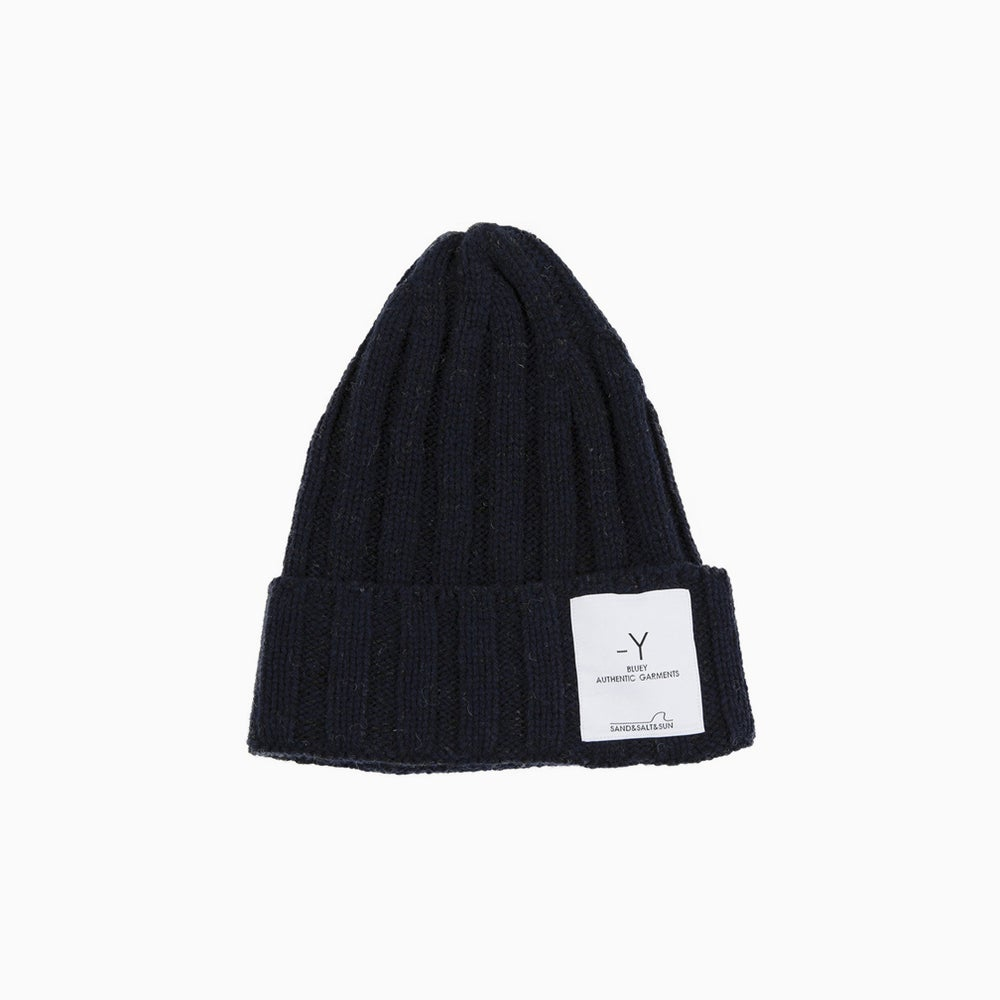 Image of bluey Wool Watch Cap - NAVY