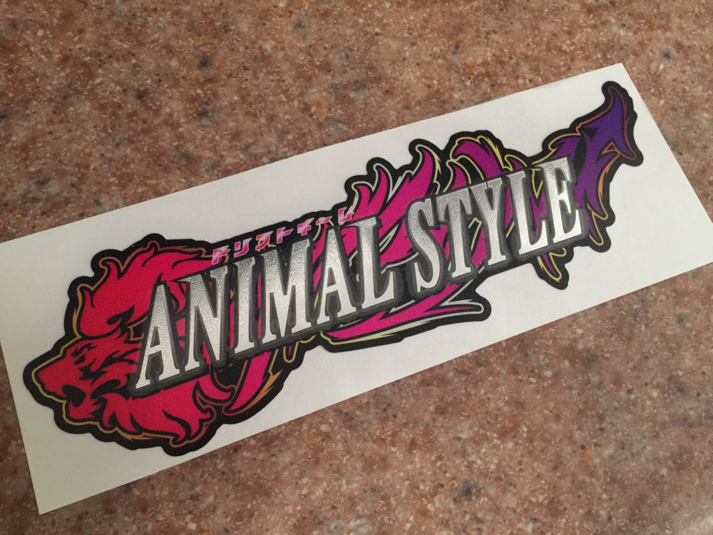 Image of ドリフトチーム Animal Style sticker
