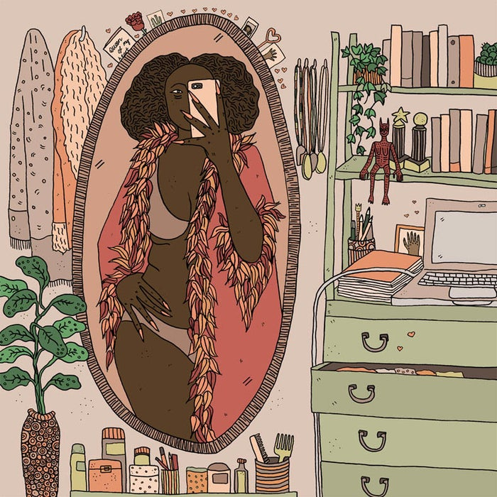 Image of Too Good For You - Print By Polly Nor