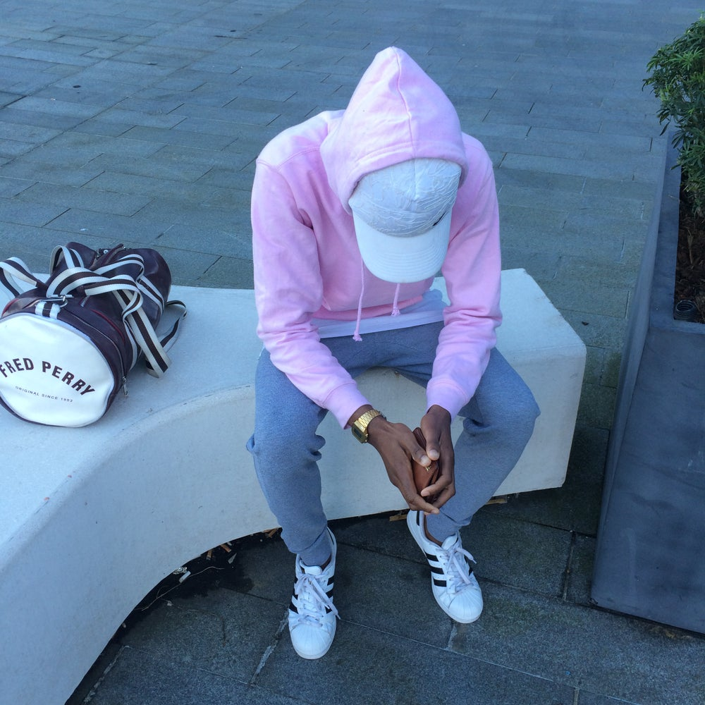 Image of PULLOVER HOODIE BABY PINK / CANDYFLOSS