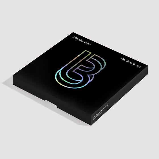 Image of John Digweed Re:Structured 3xCD/1xDVD pre-order released December 4th