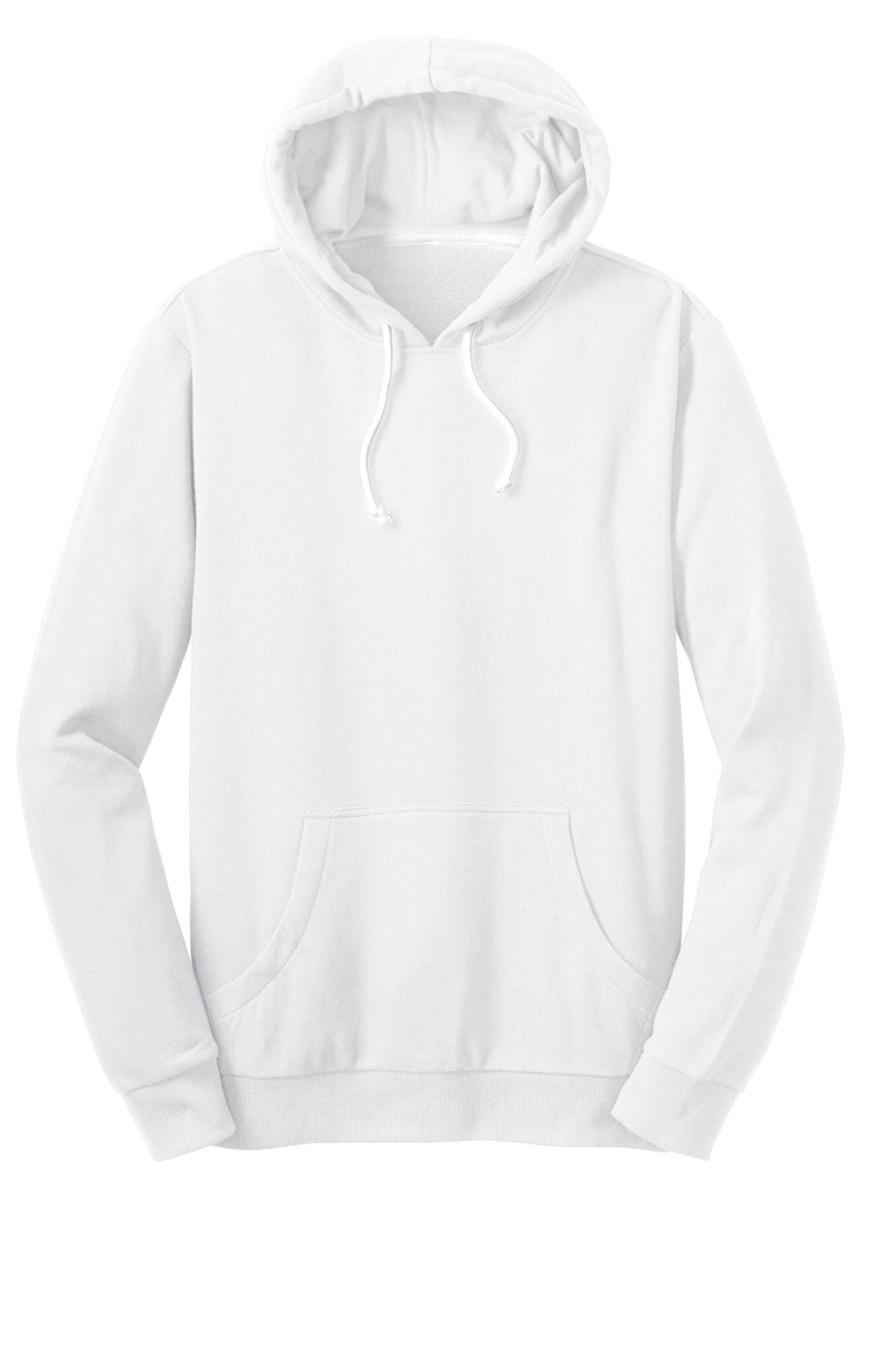 SIMPLICITY UNLIMITED — PULLOVER HOODIE // PURE WHITE