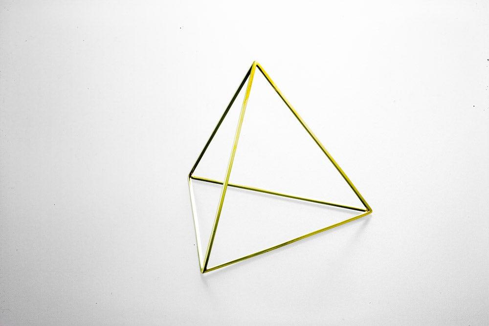 Image of Pyramid Tetrahedron Bracelet