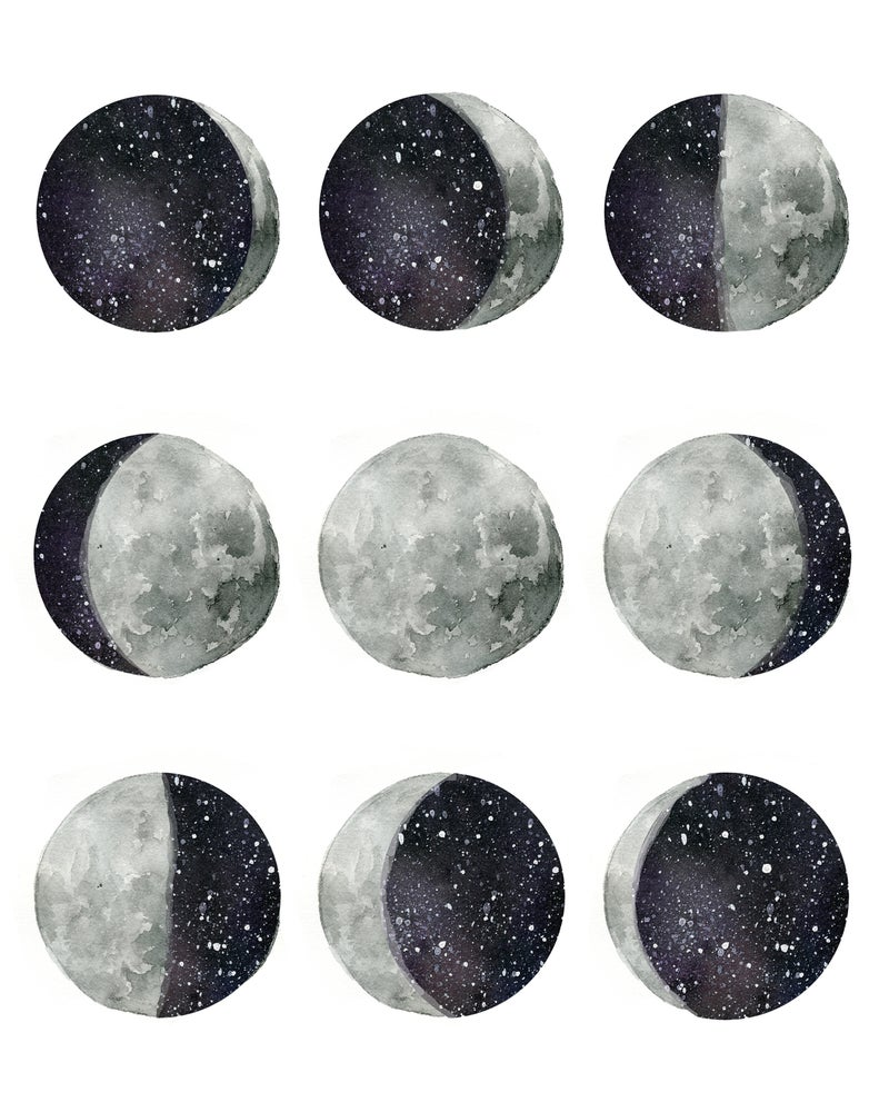Image of Phases of the moon