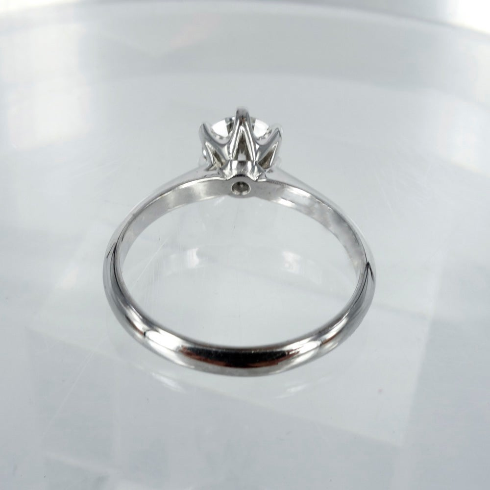 Image of PJ5281 Solitaire diamond engagement ring