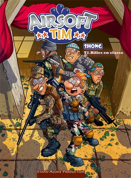 "Image of Airsoft TIM : tome 2 "" Billes en classe """