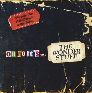 Image of Oh No It's...The Wonder Stuff - DOUBLE DISC ALBUM