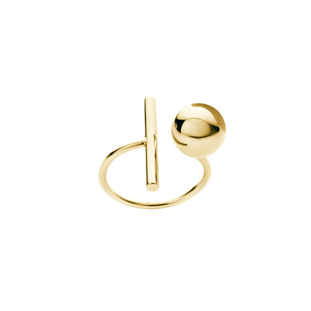 Image of An.no Small Bubble Gold ring
