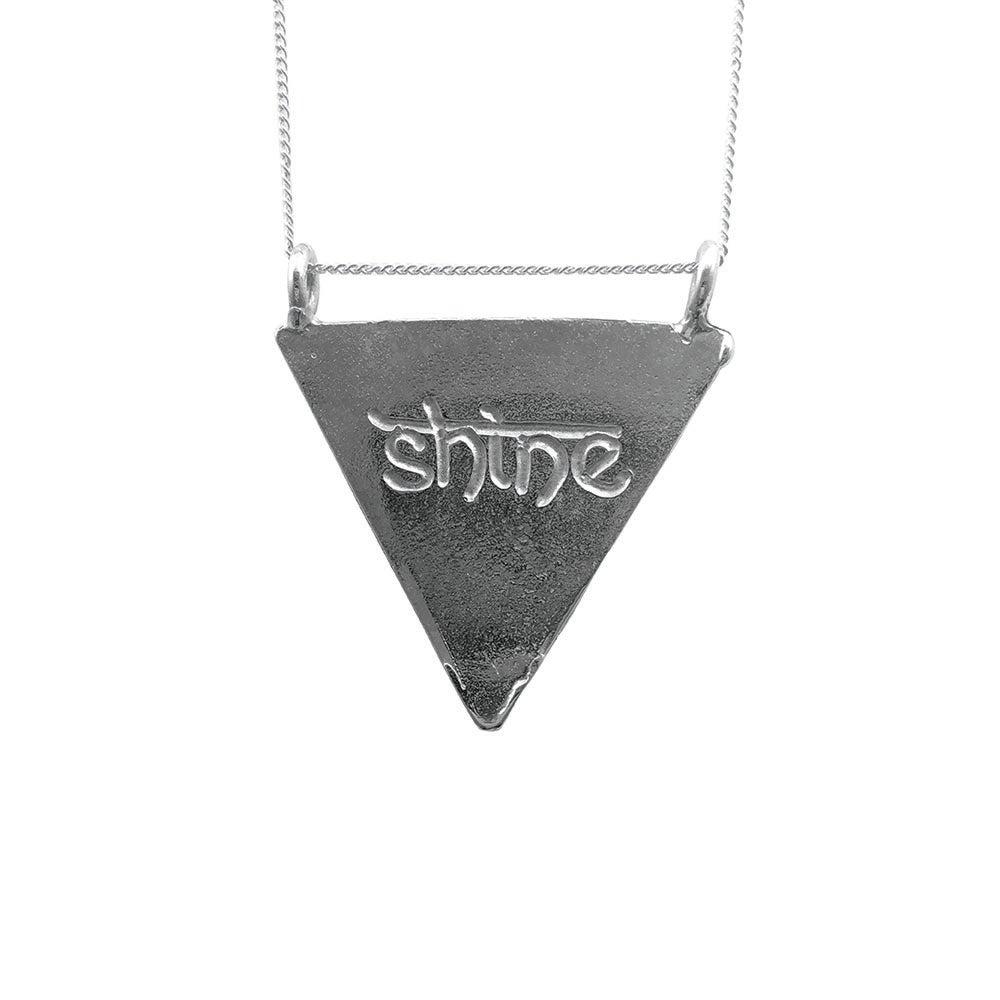 Image of Karmala Triangle Necklace Shine