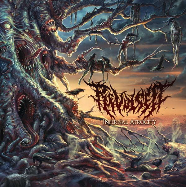 Image of Revulsed - Infernal Atrocity - CD
