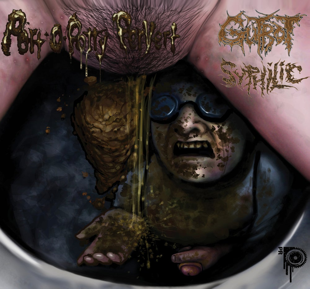 Image of Gutrot/Syphilic - Split - CD