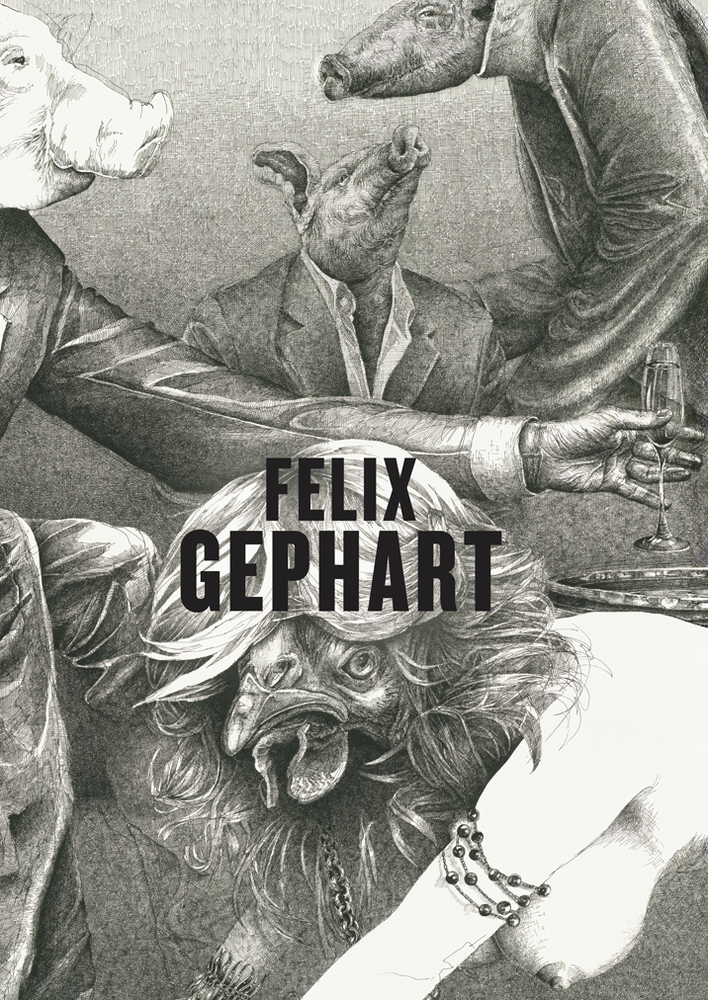 Image of BROUGHT INTO LINE – The Art of Felix Gephart