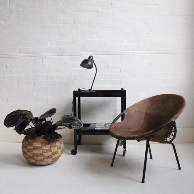 Image of 1960s wicker basket