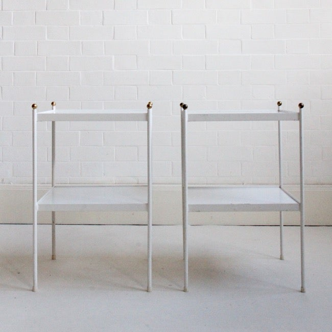 Image of Pair of bedside tables by Conran c1970