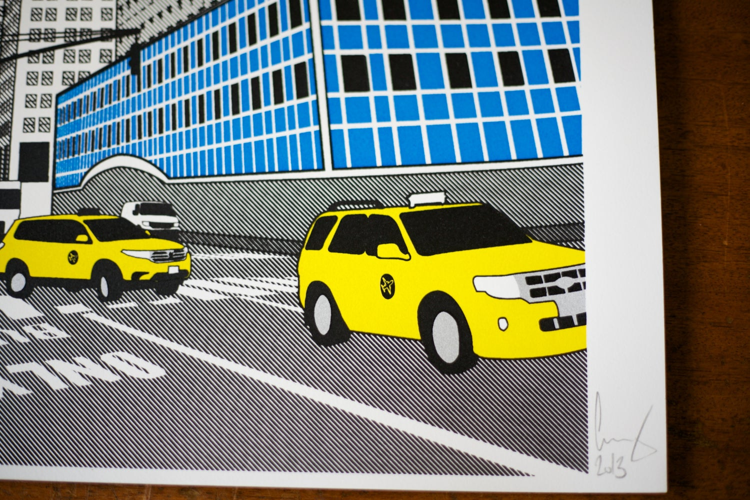 Image of Chrysler screen print
