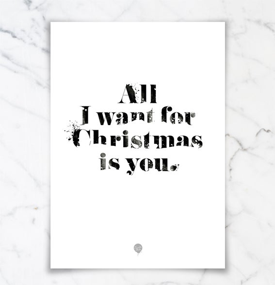 """Image of Poster: """"All I Want"""""""