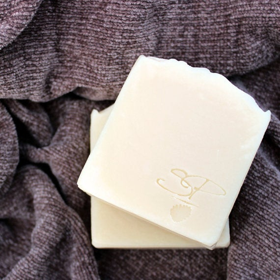 Image of Cashmere, Silk, and Cotton - Handmade Cold Process Soap with Silk, Organic Jojoba, and Mango Butter