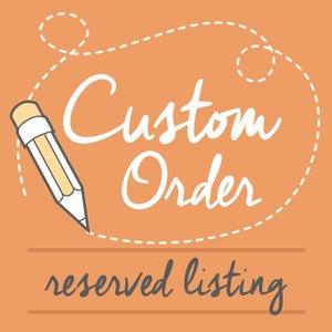 Image of Custom Order for Gerardo and Teala Alvarado