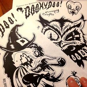 Image of Spookypoo! Creepy Crafting Digital download