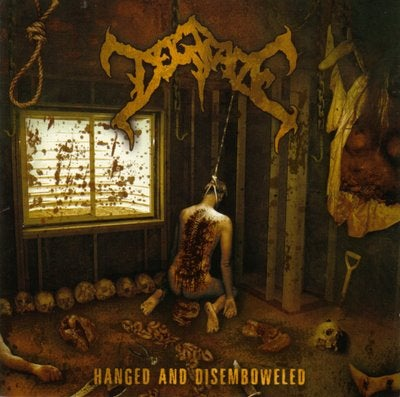 Image of Degrade - Hanged and Disemboweled - CD