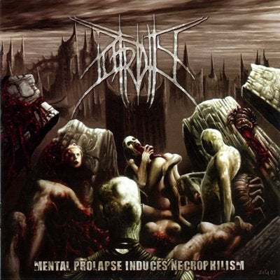 Image of Putridity - Mental Prolapse Induced Necrophilism - CD
