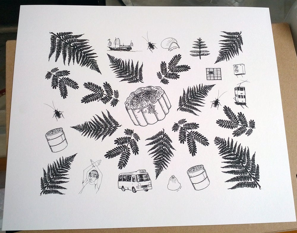 Image of 8 x 10 inch Hong Kong Print
