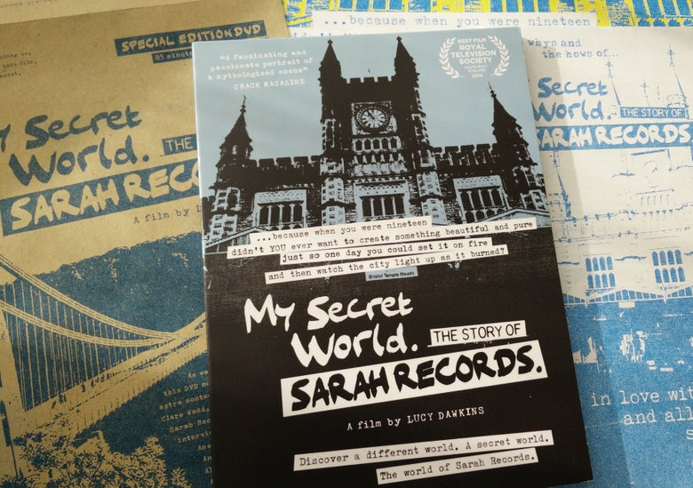 Image of My Secret World. The Story of Sarah Records Special Edition DVD