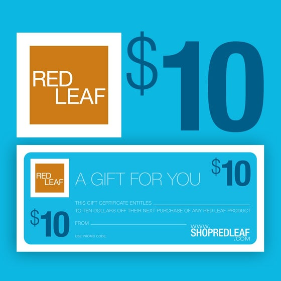 Image of Red Leaf Bath and Body Gift Certificate