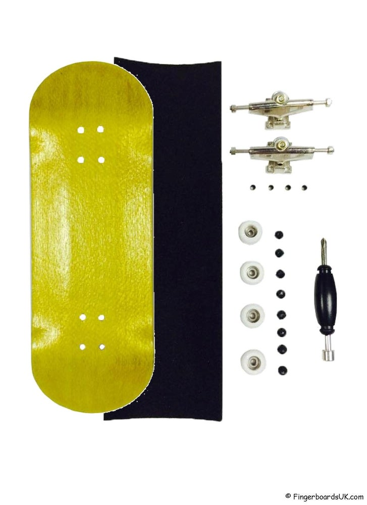 Image of FBUK Blank Starter Setup - 32mm Yellow