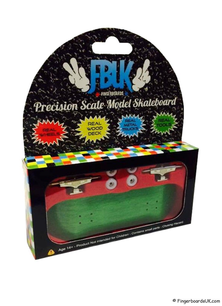 Image of FBUK Blank Starter Setup - 32mm Green