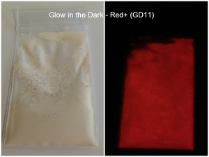 Image of Glow in the Dark Pigments <p> 12 Colors Available