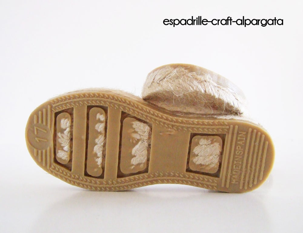 Image of espadrille soles kids 1
