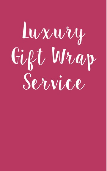 Image of Gift Wrapping with Handwritten Card
