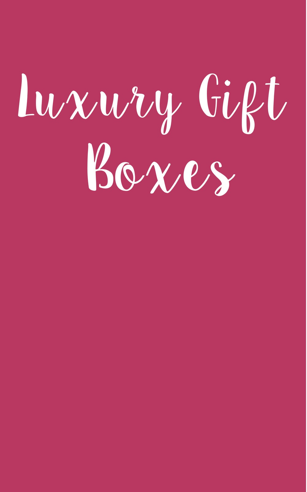 Image of Luxury Gift Box