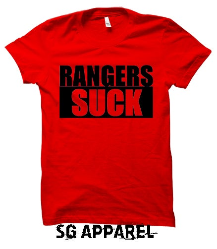 Image of Rangers Suck Red