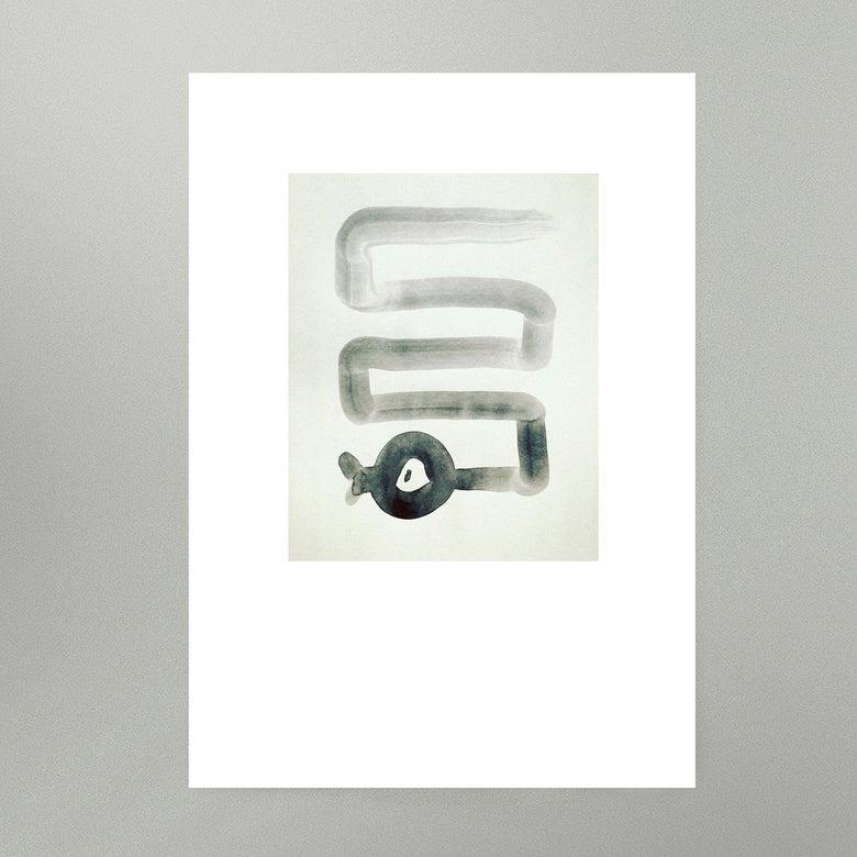 Image of Inktober : Paul's Snake • Art Print