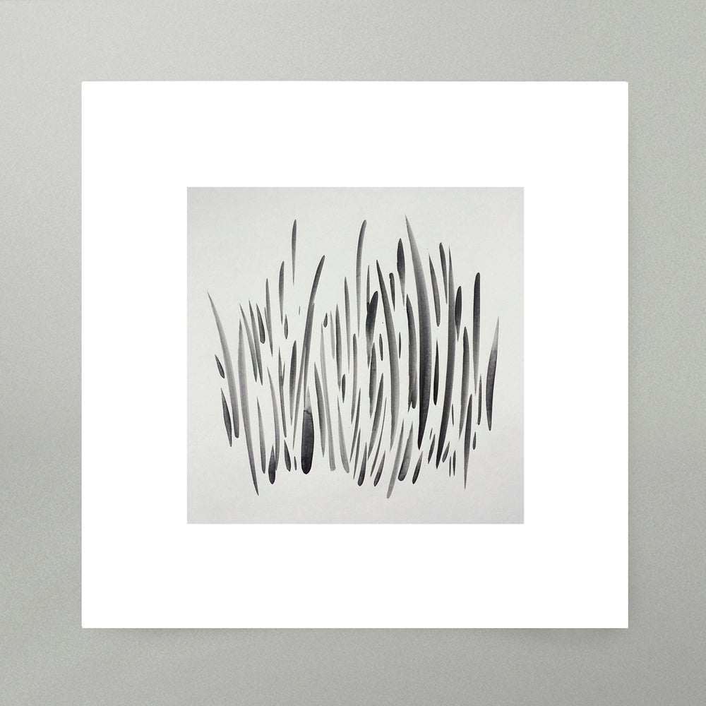 Image of By Hand : Grass Art Print