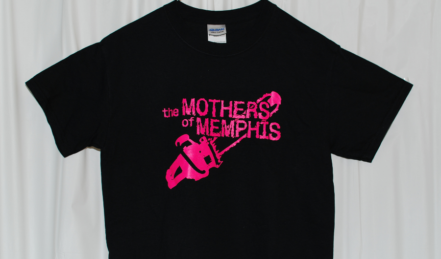 Image of Mothers of Memphis T-shirt - black