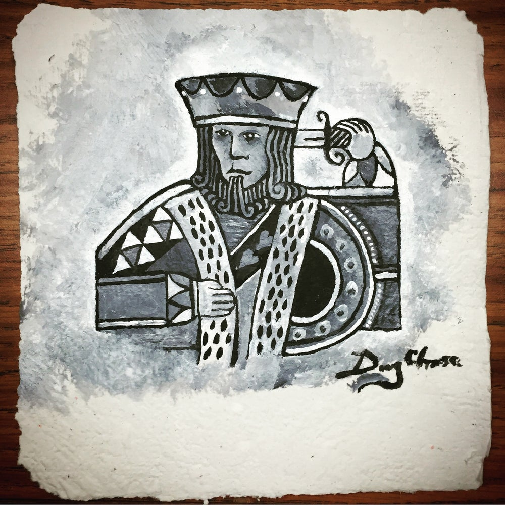 Image of The Suicide King on Paper