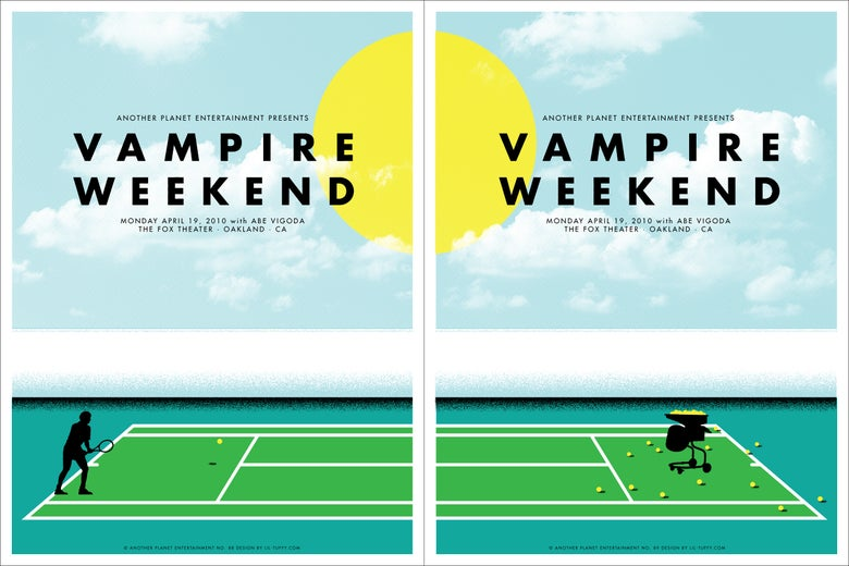 Image of Vampire Weekend - Oakland 2010