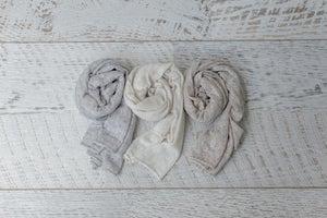 Image of Organic Linen Blend Wraps- The Neutrals Bundle