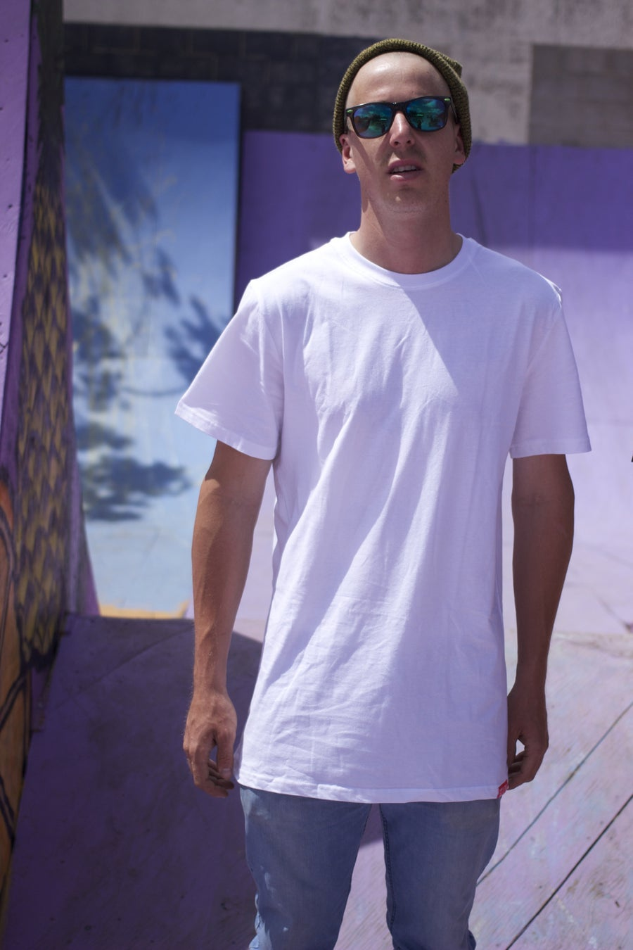 Image of Mid-Tall Blank Tee