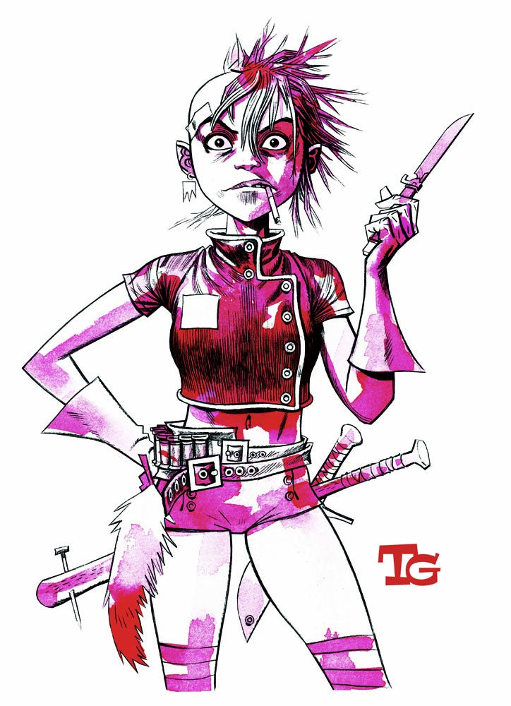 Image of Tank Girl Rising T-Shirt